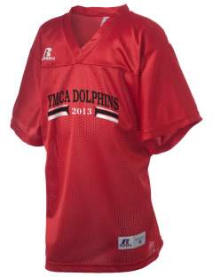 West Seattle YMCA Dolphins Russell Kid's Replica Football Jersey
