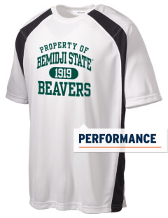 Bemidji State University Beavers Men's Dry Zone Colorblock T-Shirt