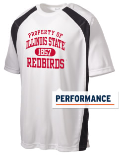 Illinois State University Redbirds Men's Dry Zone Colorblock T-Shirt