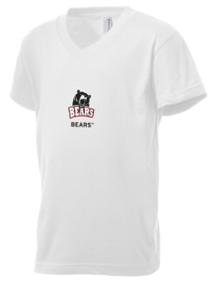 Lenoir-Rhyne University Bears Kid's V-Neck Jersey T-Shirt
