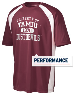 Texas A&M International University Dustdevils Men's Dry Zone Colorblock T-Shirt