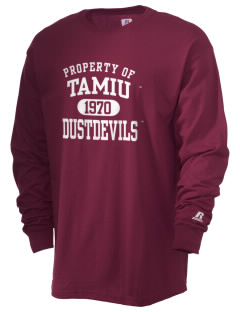 Texas A&M International University Dustdevils  Russell Men's Long Sleeve T-Shirt