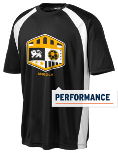 Angola Soccer Men's Dry Zone Colorblock T-Shirt