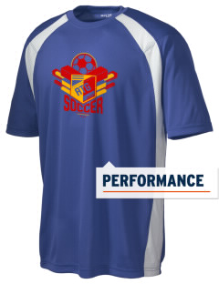 Antigua and Barbuda Soccer Men's Dry Zone Colorblock T-Shirt