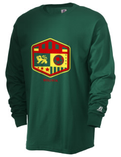 Bolivia Soccer  Russell Men's Long Sleeve T-Shirt