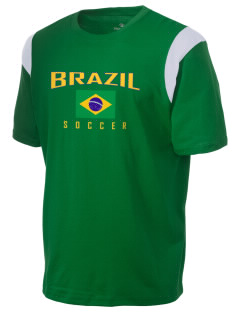 Brazil Soccer Holloway Men's Rush T-Shirt