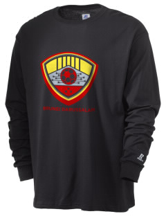 Brunei Darussalam Soccer  Russell Men's Long Sleeve T-Shirt
