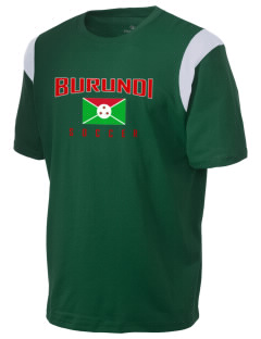 Burundi Soccer Holloway Men's Rush T-Shirt