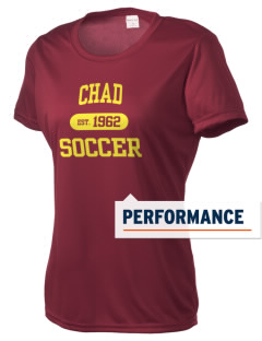 Chad Soccer Women's Competitor Performance T-Shirt