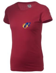 Chad Soccer  Russell Women's Campus T-Shirt