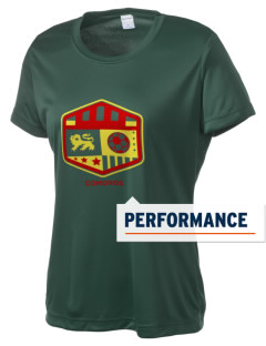 Comoros Soccer Women's Competitor Performance T-Shirt