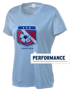 Costa Rica Soccer Women's Competitor Performance T-Shirt