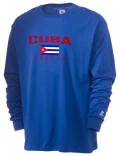 Cuba Soccer  Russell Men's Long Sleeve T-Shirt