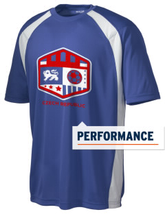 Czech Republic Soccer Men's Dry Zone Colorblock T-Shirt