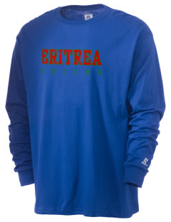 Eritrea Soccer  Russell Men's Long Sleeve T-Shirt