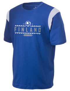 Finland Soccer Holloway Men's Rush T-Shirt
