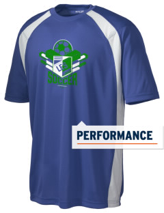 Lesotho Soccer Men's Dry Zone Colorblock T-Shirt