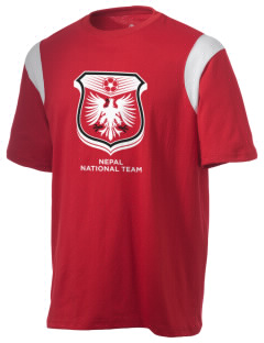 Nepal Soccer Holloway Men's Rush T-Shirt
