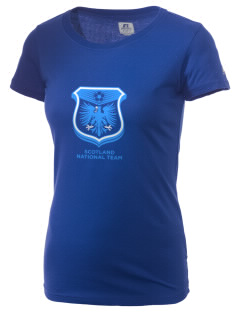 Scotland Soccer  Russell Women's Campus T-Shirt