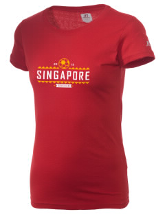 Singapore Soccer  Russell Women's Campus T-Shirt