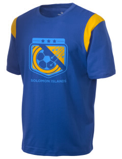 Solomon Islands Soccer Holloway Men's Rush T-Shirt