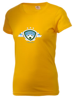 Solomon Islands Soccer  Russell Women's Campus T-Shirt