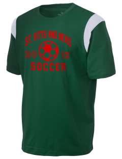 St. Kitts and Nevis Soccer Holloway Men's Rush T-Shirt
