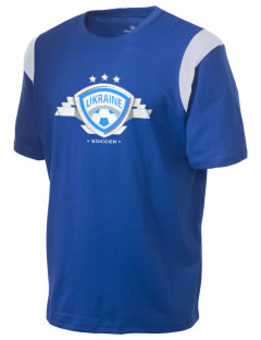 Ukraine Soccer Holloway Men's Rush T-Shirt