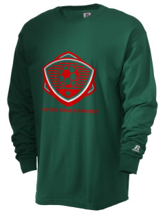 United Arab Emirates Soccer  Russell Men's Long Sleeve T-Shirt