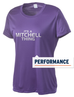 Mitchell Elementary School Sharks Women's Competitor Performance T-Shirt