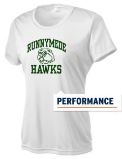 Runnymede Elementary School Hawks Women's Competitor Performance T-Shirt