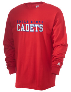 Emily Spong Elementary School Cadets  Russell Men's Long Sleeve T-Shirt