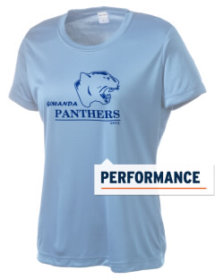 Gowanda School Panthers Women's Competitor Performance T-Shirt