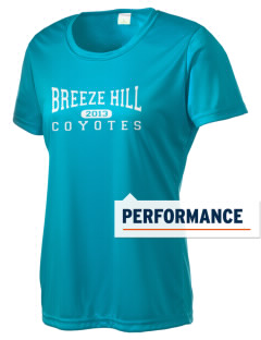 Breeze Hill Elementary School Coyotes Women's Competitor Performance T-Shirt