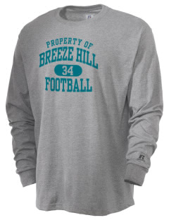 Breeze Hill Elementary School Coyotes  Russell Men's Long Sleeve T-Shirt