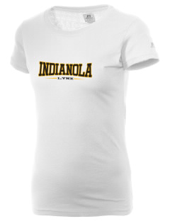 Indianola Junior High School Lynx  Russell Women's Campus T-Shirt