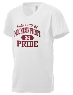 Mountain Pointe High School Pride Kid's V-Neck Jersey T-Shirt