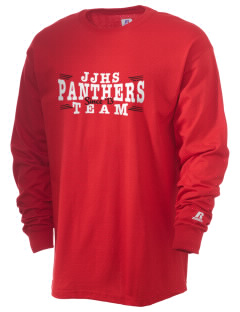 Judsonia Junior High School Panthers  Russell Men's Long Sleeve T-Shirt