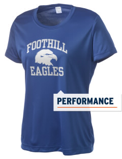 Foothill Middle School Eagles Women's Competitor Performance T-Shirt