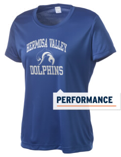 Hermosa Valley School Dolphins Women's Competitor Performance T-Shirt
