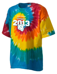 Cornerstone School Cougars Kid's Tie-Dye T-Shirt