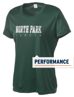 North Park Middle School Lancer Women's Competitor Performance T-Shirt