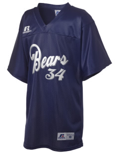 Burton Elementary School Bears Russell Kid's Replica Football Jersey