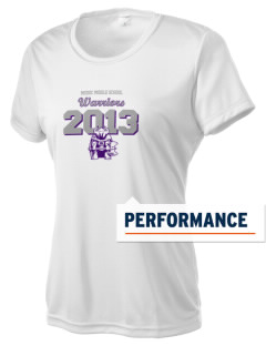 Modoc Middle School Warriors Women's Competitor Performance T-Shirt