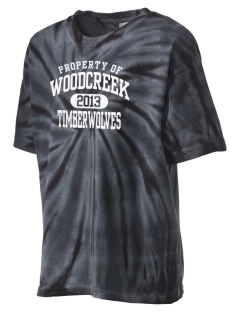 Woodcreek High School Timberwolves Kid's Tie-Dye T-Shirt