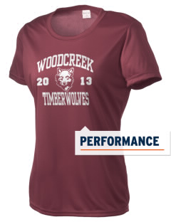 Woodcreek High School Timberwolves Women's Competitor Performance T-Shirt