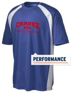 Chavez Elementary School Dolphins Men's Dry Zone Colorblock T-Shirt