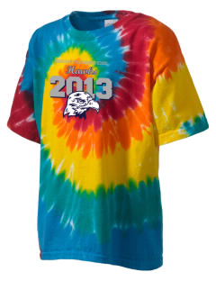 Marguerite Maze Middle School Hawks Kid's Tie-Dye T-Shirt
