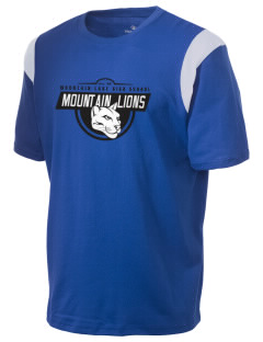 Mountain Lake High School Mountain Lions Holloway Men's Rush T-Shirt