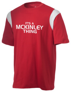 McKinley Elementary School Mustangs Holloway Men's Rush T-Shirt
